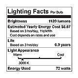 GE Lighting 67774 Reveal 72-Watt, 1120-Lumen A19 Light Bulb with Medium Base, 4-Pack