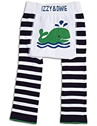 Izzy & Owie Baby Boy Leggings Whale, 12-24 Month