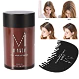 Cheap Men Women Baldness Concealer Thickening Hair Building Fibers Powder With Dedicated Comb (Auburn)