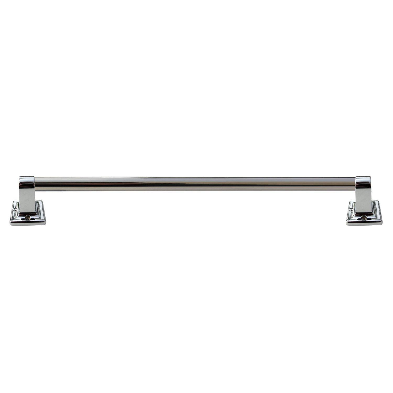 LASCO 35-0157 Grab Bar Set, Chrome Plated Finish, 7/8-Inch OD X 32-Inch, 2.25L x 3W x 32H