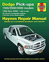 Image of the product Dodge 1500 2500 & 3500 that is listed on the catalogue brand of Haynes Manuals N. America.