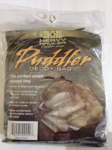 Heavy Hauler Outdoor Gear THE PUDDLER Decoy Bag Tan Canvas, by Heavy Hauler Outdoor Gear (Image #1)