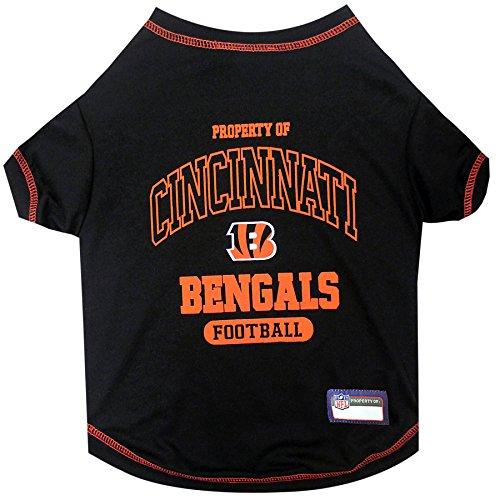 Cincinnati Bengals Shirt (NFL CINCINNATI BENGALS Dog T-Shirt, Medium)