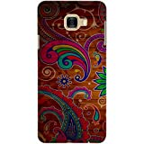 Casotec Wooden Pattern Print Design 3D Printed Hard Back Case Cover for Samsung Galaxy C5