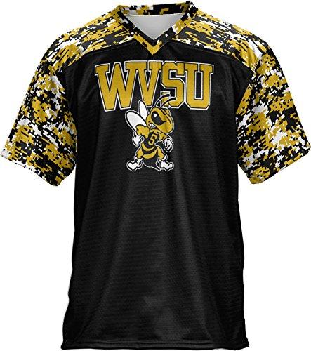 Men's West Virginia State University Digital Football Fan Jersey (Apparel)