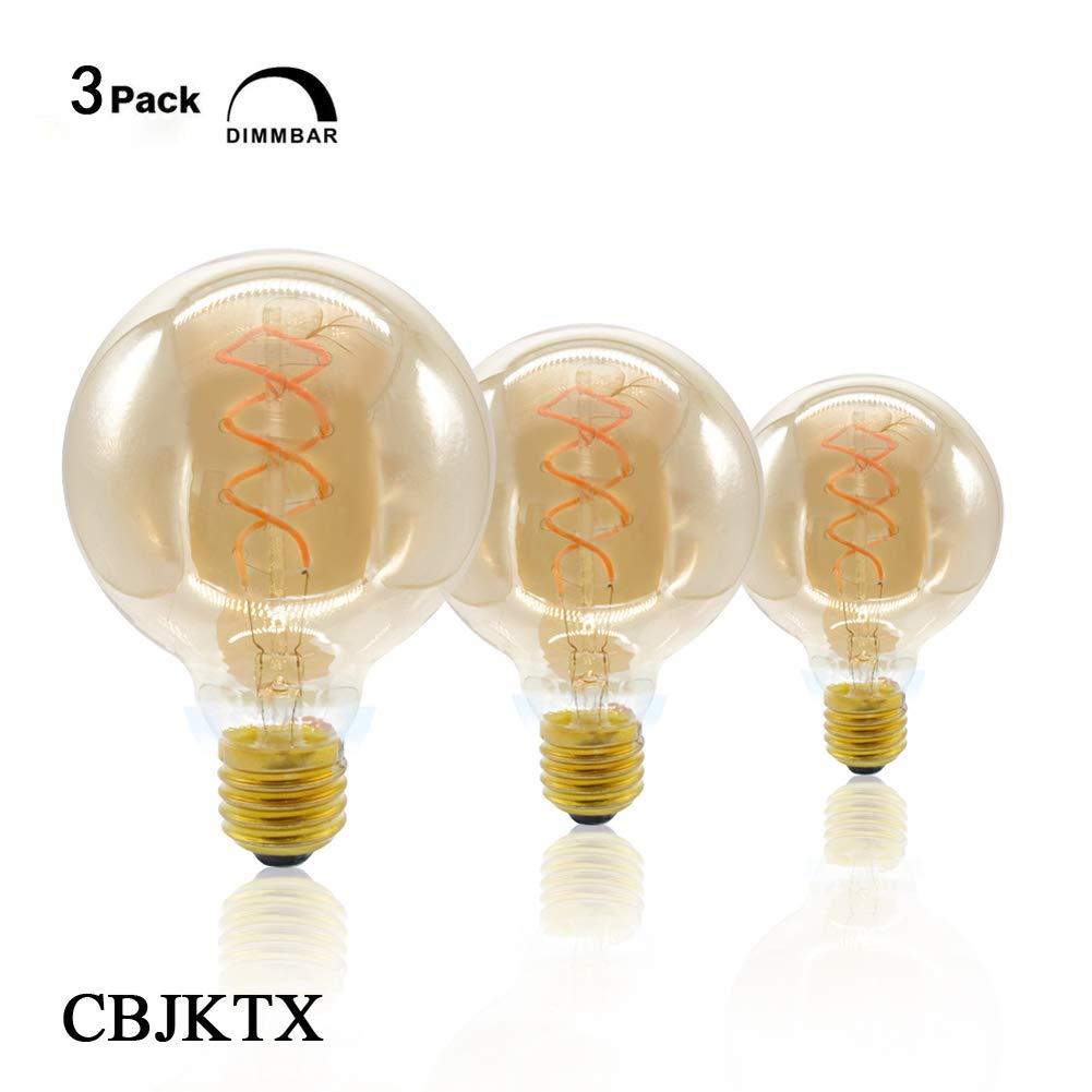 Bombillas De Filamento Led Dimmable E27 - Bombillas De Bajo Consumo 4W 220-240V 2200K