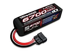 Traxxas 2890x 6700 Mah 14.8v 4-cell 25c Lipo Battery Vehicle