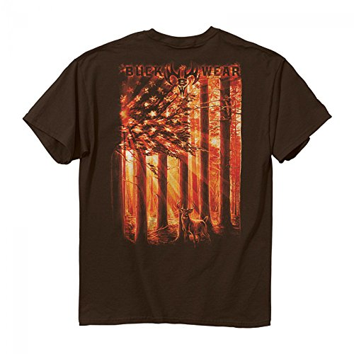 Buck Wear American Outdoors Men's T-Shirt -xxl