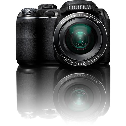 Fujifilm FinePix S3200 14 MP Digital Camera with Fujinon 24x Super Wide Angle Optical Zoom Lens and 3-Inch LCD