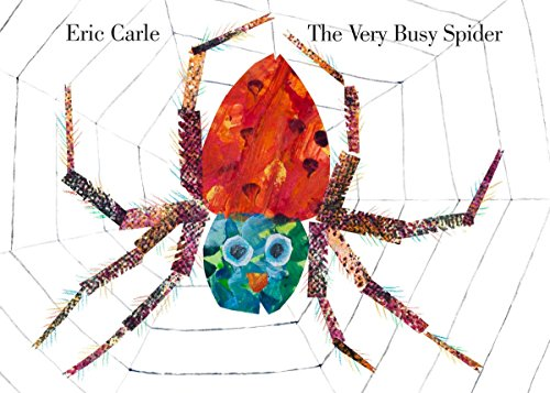 The Very Busy Spider (Toddlers Halloween Art Ideas)