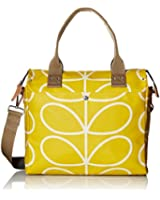 Orla Kiely Giant Linear Stem Zip Messenger Convertible Shoulder Bag
