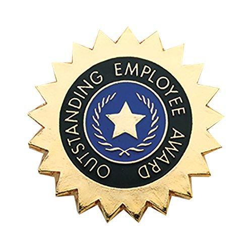 Set of 100 Lapel Pins - Outstanding Employee Award
