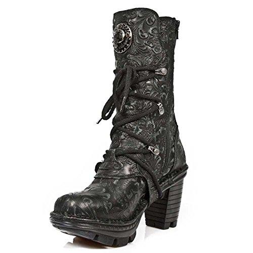 New Rock Damen M Neotr005 S25 Stiefel & Stiefeletten BLACK, BLACK