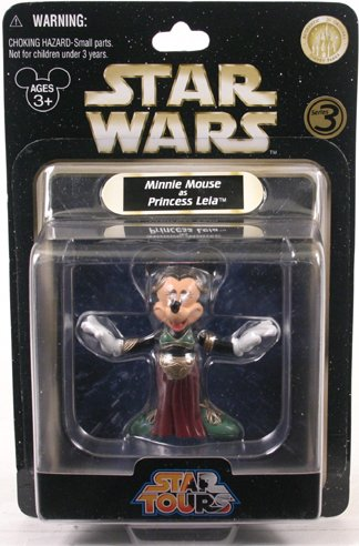 2009 Legacy - Star Tours - Minnie Mouse as Princess Leia (Slave Outfit)]()