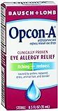 B&L Allergy Eye Drops Size .5z Opcon-A Allergy Relief Eye Drops