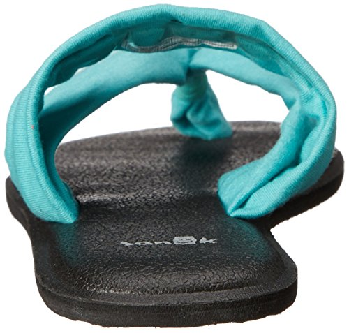Sanuk Sandal Wms Yoga Triangle Turquoise
