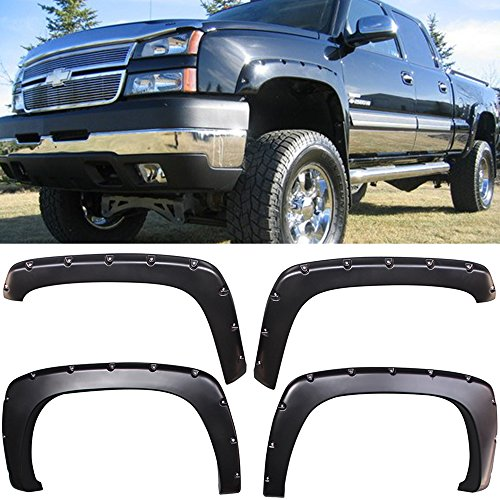 04 avalanche fender flares - 7