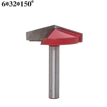 Lecimo Fresa 3D Cutter Cuchillo, 90 Grados V Shape CNC ...