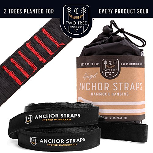 Two Tree Hammock Co. ...Summer Blowout Sale.The Original Hammock Tree Straps are The Easiest and Fastest Way to Hang Your Hammock! ()