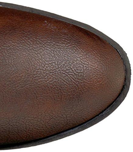 Rampage Damen Ivelia Fashion Kniehohe Casual Reitstiefel (erhältlich in Wide Calf) Braun