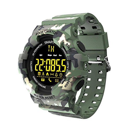 big-time Sports Smart Watch, Waterproof Bluetooth Smart Watch Camouflage Smart Watch Suitable for Outdoor by big-time