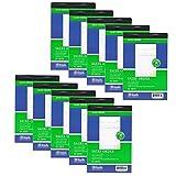 AllTopBargains 10 Pieces 2 Part Carbonless Sales Order Books Receipt Form Invoice, 50 Set