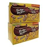 Keebler Fudge Stripes Cookies Minis 168g (2 pack) / Keebler Fudge Stripes biscuits minis 168g (paquette de 2)
