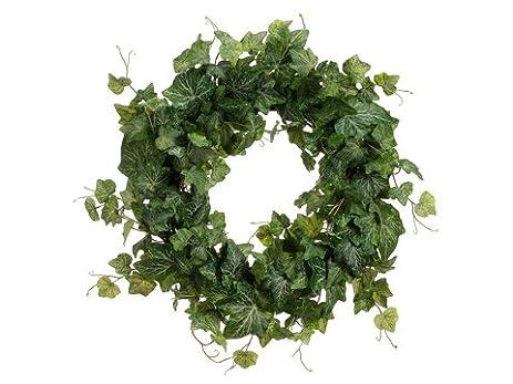 amazon com 20 cambridge ivy wreath two tone green pack of 2