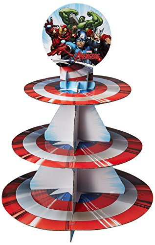 Wilton Marvel Avengers Treat Stand, Multicolor -