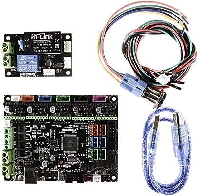 MKS Gen-L Panel de control + partes de impresora 3D MKS PWC ...