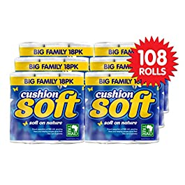 108 Rolls Cushion Soft Toilet Tissue