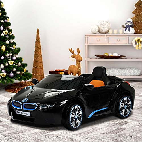 Bmw I8 12v Electric Ride On With Remote Control: Uenjoy BMW I8 12V Ride On Children's Electric Car