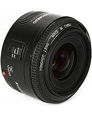 YONGNUO YN35 35mm F2 Lens 1: 2 AF/MF-groothoek-vast/Prime autofocus lens voor Canon EF bevestiging EOS camera + NAMVO diffuser
