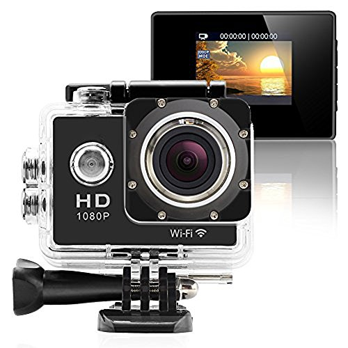 SJ4000 Action Camera HD 1080P 2'' LCD 170° Wide Angle Lens Sports Camera Wi-Fi Action Cameras JV Store Tech