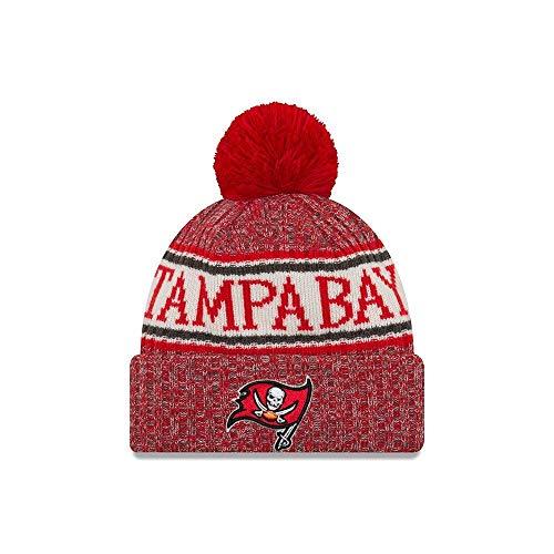 New Era Tampa Bay Buccaneers NFL On Field 18 Sport Knit Beanie Beany Mütze
