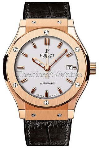 (Hublot Classic Fusion Dial White Automatic Unisex Watch 565OX2610LR)