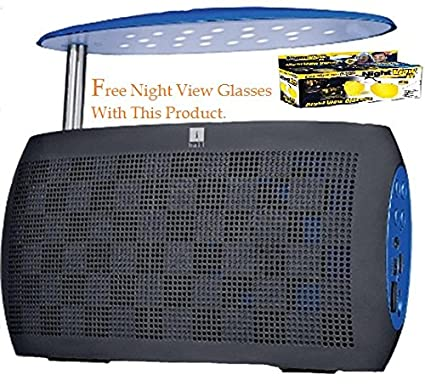 iball Music Live Bluetooth Speaker with FM Radio and LED Night Lamp