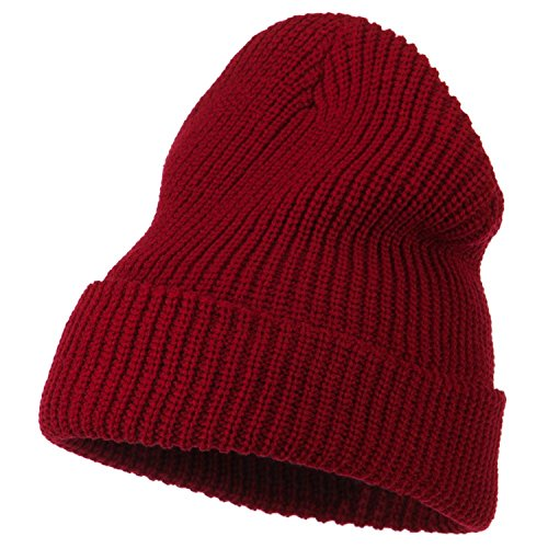 Life Aquatic Zissou Costume (Armycrew G.I. Watch Cap With Cuff - Steve Zissou Life Aquatic Theme Beanie - Red - One Size)