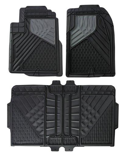 Hopkins 79100 Go Gear Mid Size Heavy Duty Black Floor Mats (4 Piece Set) ()