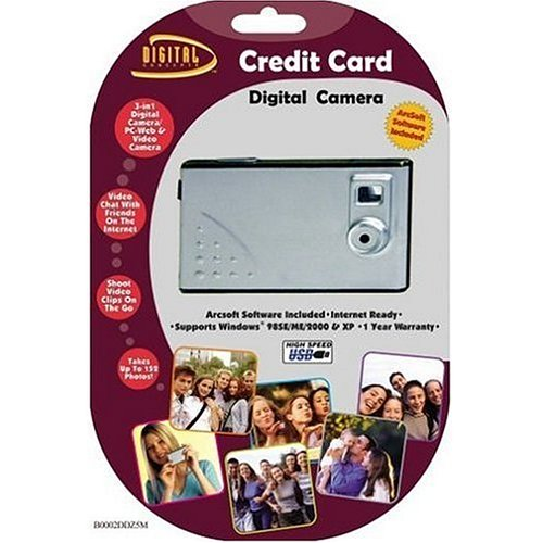 Credit Card Digital Camera (OLD (Sakar Web Cameras)