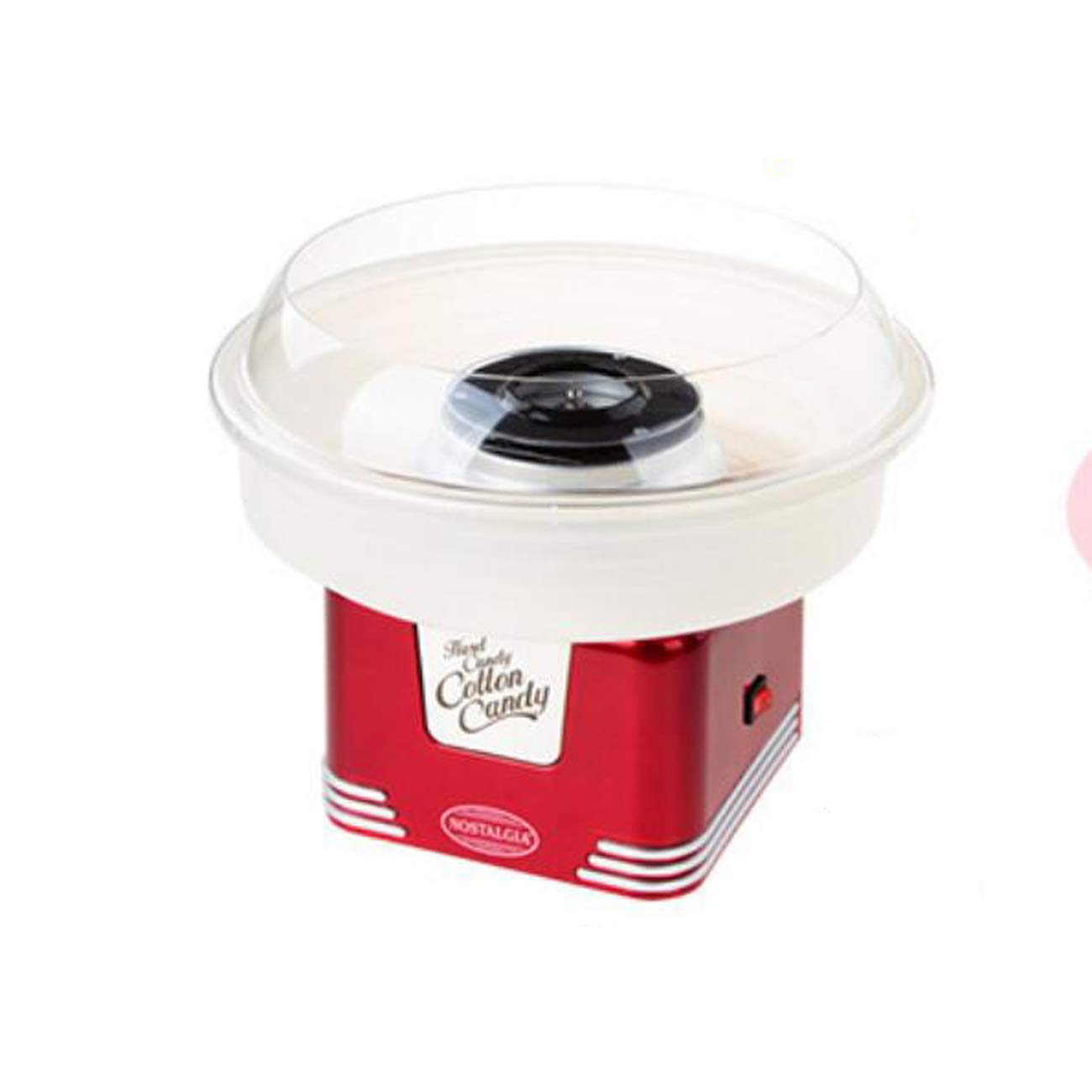 Isa Handy Candy Smart Cotton Candy Maker, Pink/Red,Red