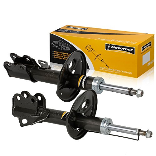 - Maxorber 2pcs Front Pair Shocks Struts Absorber Compatible with Toyota Corolla 1988-1992 Shock Set Replacement for Geo Prizm 88-92 Shock Absorber 234035 234036 71857 71858