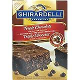 Ghirardelli Triple Chocolate Brownie Mix 2.83 Kg