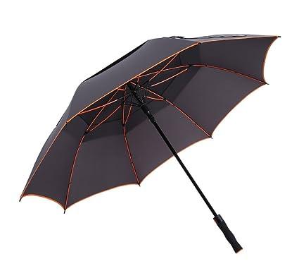 Paraguas de Viaje Plegable Grande a Prueba de Viento Protección Solar Paraguas de Golf para Hombre