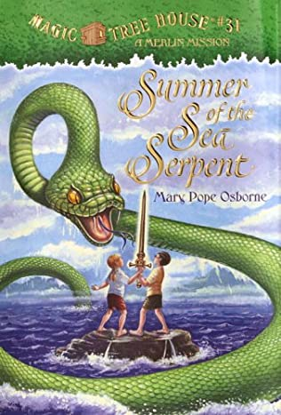 book cover of Summer of the Sea Serpent