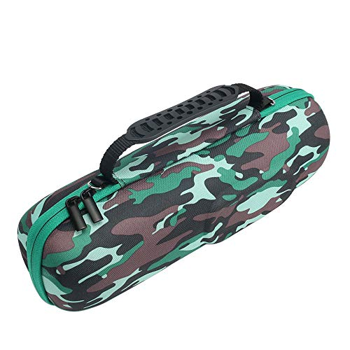 PU Hard Case for JBL Charge 3 Waterproof Portable Wireless Bluetooth Speaker Carry Cover Bag Protective Box (Camouflage)