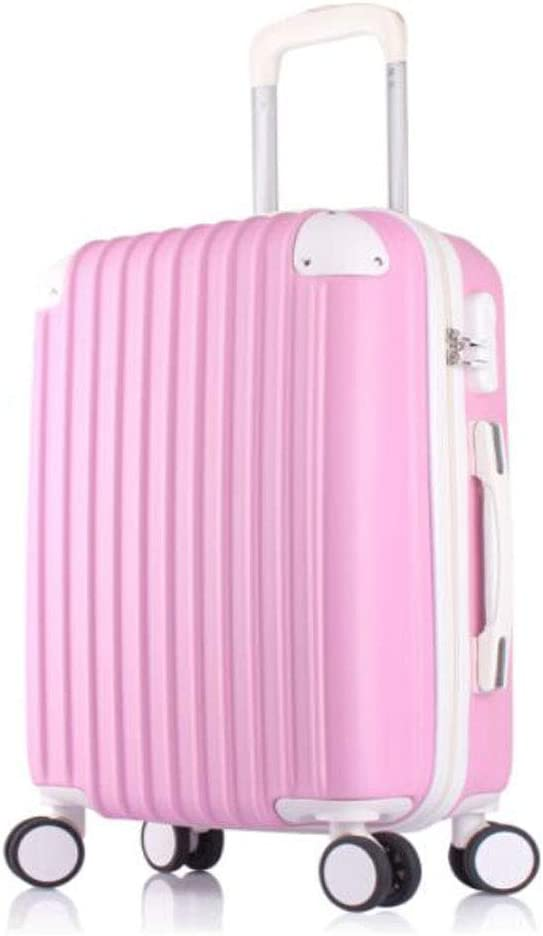 Black Color : Pink, Size : 141020 inch 35 23 50 Kexintong Suitcase for Casual Fashion Carrying Rotating ABS Expandable Suitcase cm Lightweight Trolley case Size
