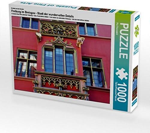 Un Motivo Dal Calendario Di Freiburg Nel Breisgau – Città Dei Meravigliosi Dettagli 1000 Pezzi Puzzle Orizzontale