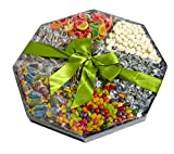 Candy Sharing Platter Gift Basket