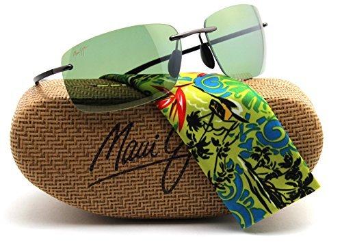 Maui Jim HT742-02D KUPUNA Gunmetal Frame / Polarized Maui HT - Maui Jim Sunglasses Flexible